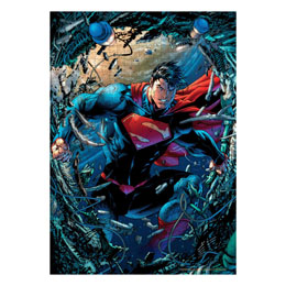 DC COMICS PUZZLE SUPERMAN CHATARRA