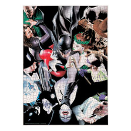 DC COMICS PUZZLE BATMAN ENEMIES