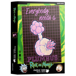Puzzle Plumbus Rick and Morty 1000 pièces