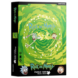 Puzzle Portal Rick and Morty 1000 pièces