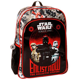 SAC A DOS STAR WARS ROGUE ONE ENLIST NOW ADAPTABLE 40CM
