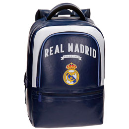 SAC À DOS REAL MADRID VINTAGE ADAPTABLE 44CM
