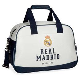 SAC DE VOYAGE REAL MADRID BLEU MARINE 40CM