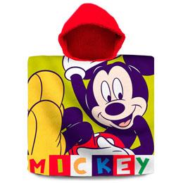 PONCHO DISNEY MICKEY EN COTON