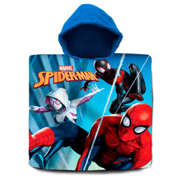 PONCHO SERVIETTE SPIDERMAN MARVEL EN COTON