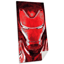 SERVIETTE DE BAIN IRON MAN MARVEL EN COTON