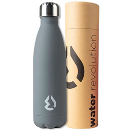 BOUTEILLE THERMOS GRISE WATER REVOLUTION 500ML