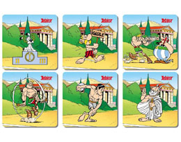 ASTERIX PACK 6 SOUS-VERRES OLYMPIC GAMES