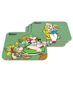 Photo du produit ASTERIX PACK 6 SOUS-VERRES THE LEGIONARY Photo 1