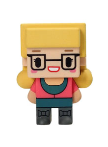 FIGURINE BIG BANG THEORY PIXEL BERNADETTE 7CM