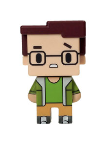 FIGURINE BIG BANG THEORY PIXEL LEONARD 7CM