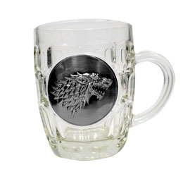 GAME OF THRONES CHOPE STARK METALLIC LOGO
