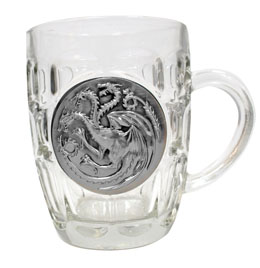 CHOPE GAME OF THRONES TARGARYEN METALLIC LOGO - LE TRONE DE FER