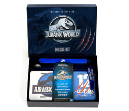 Photo du produit JURASSIC WORLD COFFRET CADEAU DELUXE WELCOME TO THE PARK Photo 1