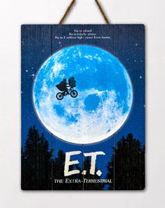 E.T. L´EXTRA-TERRESTRE TABLEAU EN BOIS WOODARTS 3D THE EXTRA-TERRESTRIAL 30 X 40 CM