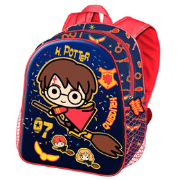 SAC A DOS 3D QUIDDITCH HARRY POTTER 31CM