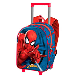 TROLLEY 3D SPIDERMAN MARVEL 34CM