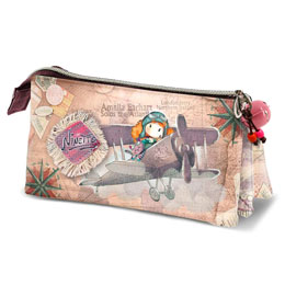 TROUSSE NINETTE AVIATRICE TRIPLE