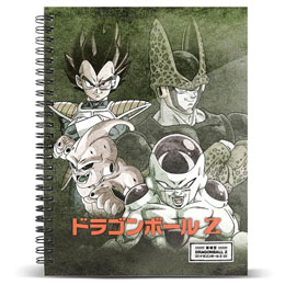 CARNET A5 EVIL DRAGON BALL