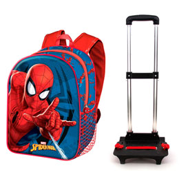 TROLLEY SPIDERMAN MARVEL 48CM