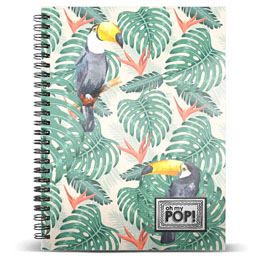 CARNET OH MY POP TOUCAN A5