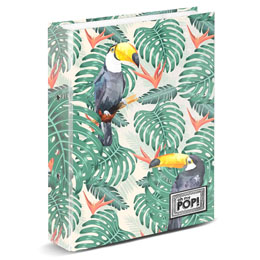 CLASSEUR A4 OH MY POP TOUCAN