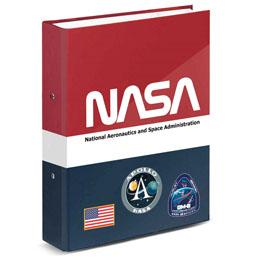 CLASSEUR A4 MISSION NASA À ANNEAUX