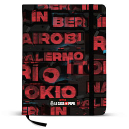 CARNET JOURNAL CITIES LA CASA DE PAPEL