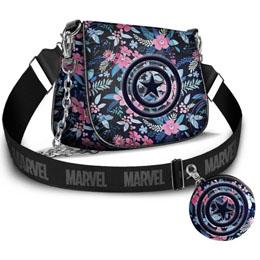 Sac bandoulière Spring + porte monnaie Captain America Marvel