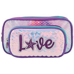 TROUSSE DOUBLE LED ET PAILLETTES LOVE