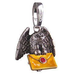 BRELOQUE HARRY POTTER LUMOS HIBOU POSTAL