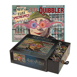 HARRY POTTER PUZZLE THE QUIBBLER MAGAZINE COVER