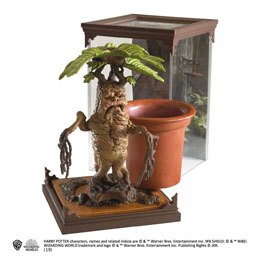 HARRY POTTER STATUETTE MAGICAL CREATURES MANDRAKE 13 CM