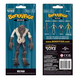 Photo du produit Universal Monsters figurine flexible Bendyfigs Wolfman 14 cm Photo 1
