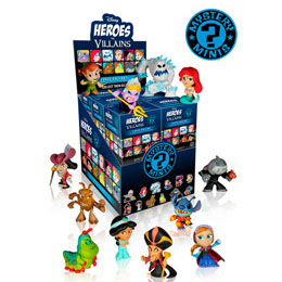 12 MYSTERY MINI DISNEY VILLAINS + PRESENTOIR