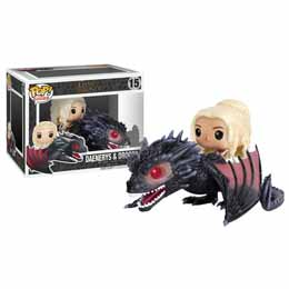 GAME OF THRONES FUNKO POP DAENERYS ET DROGON
