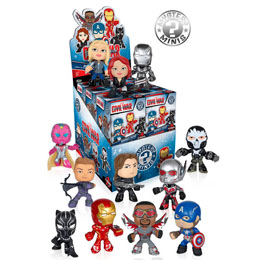 12 MYSTERY MINI MARVEL CIVIL WAR + PRESENTOIR
