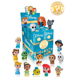 12 MYSTERY MINI PRINCESSES DISNEY + PRESENTOIR