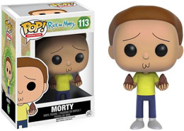 RICK ET MORTY FIGURINE POP! ANIMATION VINYL MORTY