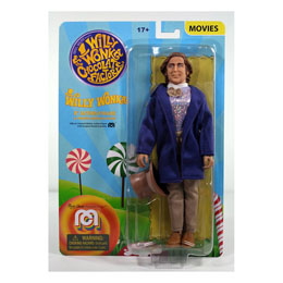 MEGO CHARLIE ET LA CHOCOLATERIE FIGURINE WILLY WONKA (GENE WILDER) 20 CM