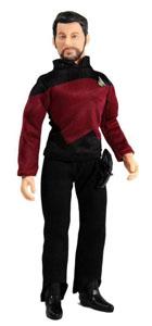 Star Trek TNG figurine Cmdr Will Riker 20 cm