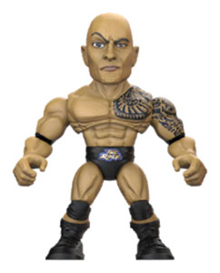 WWE FIGURINE ACTION VINYLS 8 CM THE ROCK RETURNS