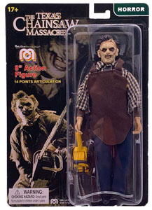 MASSACRE À LA TRONÇONNEUSE FIGURINE LEATHERFACE 20 CM