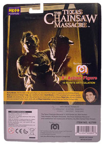Photo du produit MASSACRE À LA TRONÇONNEUSE FIGURINE LEATHERFACE 20 CM Photo 1