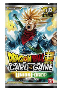DRAGON BALL SUPER CARD GAME SEASON 2 24 BOOSTERS + PRESENTOIR BOOSTERS UNION FORCE