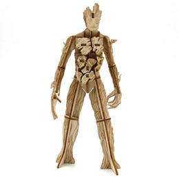 LES GARDIENS DE LA GALAXIE MAQUETTE INCREDIBUILDS 3D GROOT