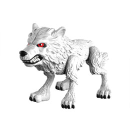 GAME OF THRONES VINYL FIGURINE GHOST (WOLF) 8 CM