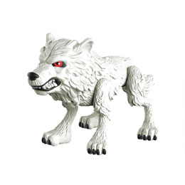 GAME OF THRONES VINYL FIGURINE GHOST (WOLF) GITD