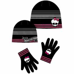 Ensemble Monster High bonnet et gants