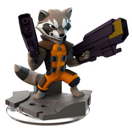 FIGURINE DISNEY INFINITY 2.0 ROCKET RACCOON MARVEL LES GARDIENS DE LA GALAXIE